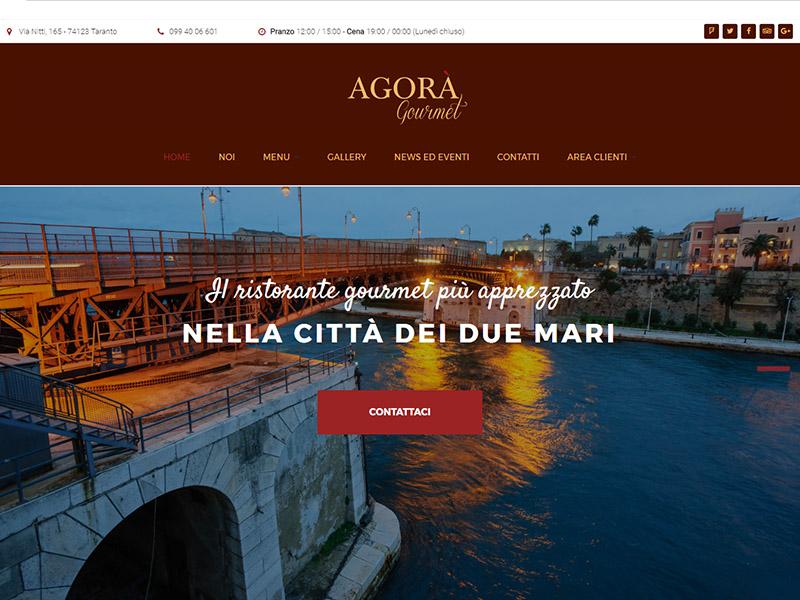 Ristorante agorà gourmet homepage