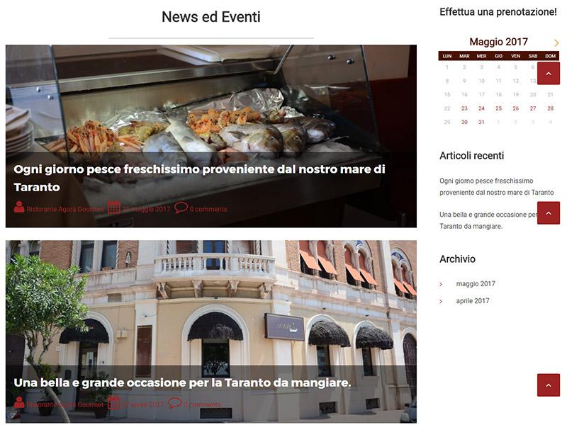 Ristorante agorà gourmet news ed eventi