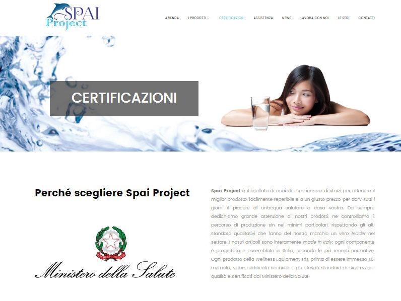 spai project pagina