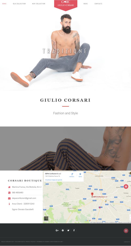 Essere o non essere on line Portfoglio siti web - Corsarifashion