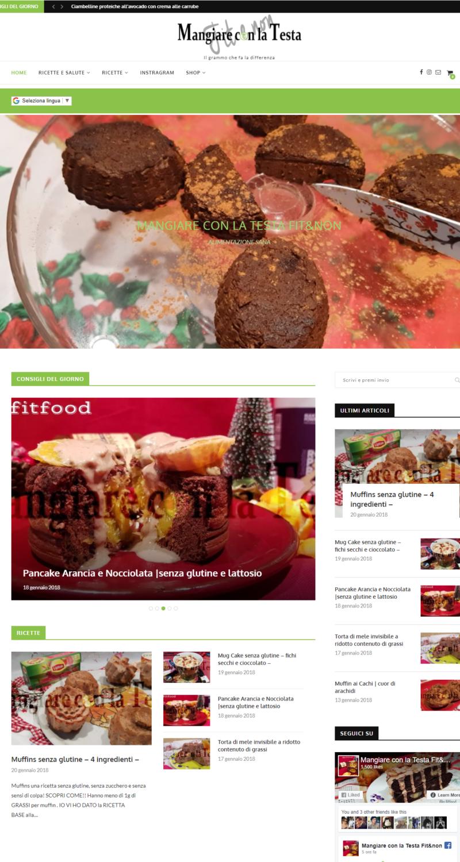 Realizzazione siti internet Martina Franca Taranto ,Video, Foto, SEO , E-commerce -mangiareconlatesta