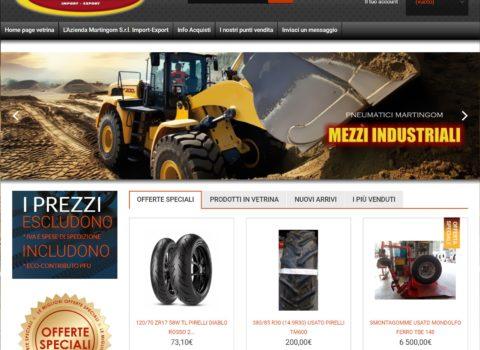 Vendita pneumatici online Martingom